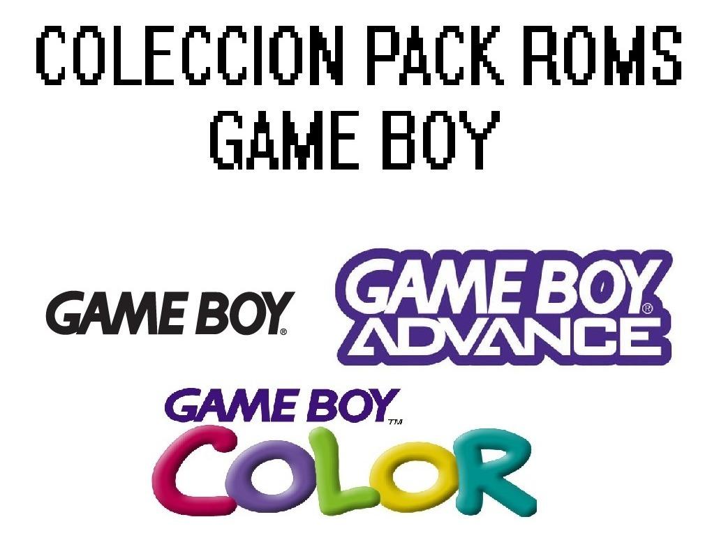 Pack Colección Roms De Game Boy ( Gba, Gbc, Gb ) + Emulador