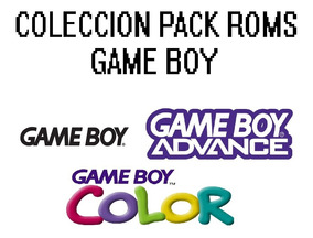 Pack Colección Roms De Game Boy ( Gba, Gbc, Gb ) + Emulador