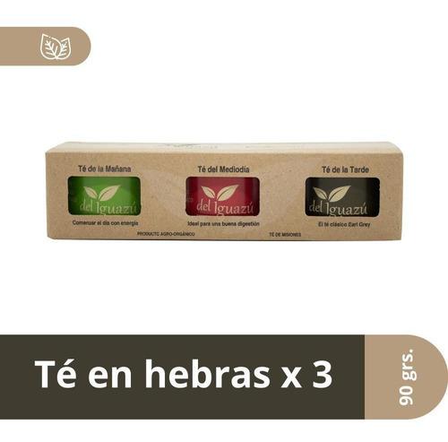 pack colección té hebras orgánico