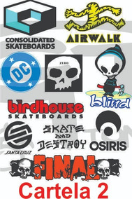 9c2e21d31 Adesivo De Skate Marca Famosa - Acessórios para Veículos no Mercado ...