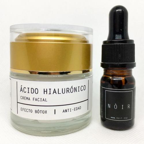 pack crema de ácido hialurónico + vitamina c + envío gratis