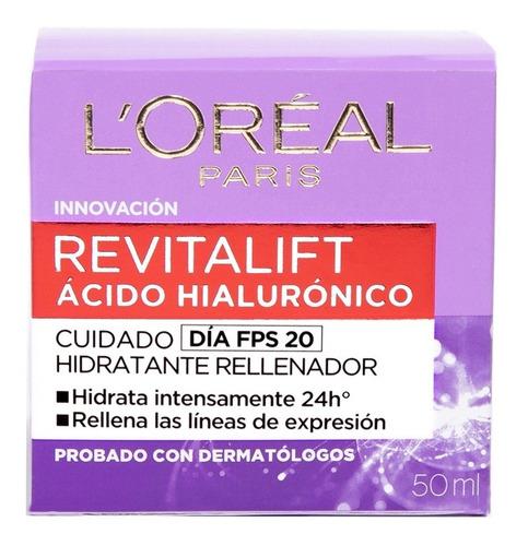 pack crema revitalift dia + noche + contorno de ojos loreal