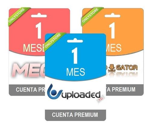 pack cuentas premium mega uploaded rapidgator 30 dias