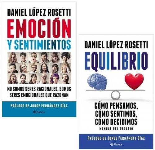 pack daniel lopez rosetti (2 libros) - editorial planeta