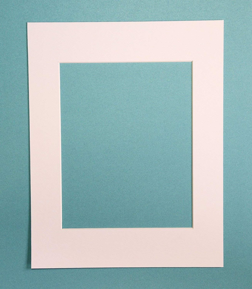 Pack De 10 Blanco 11x14 Cuadro Mats Estero Con White Core - $ 99.000 ...