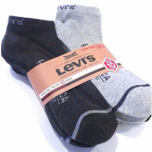 pack de 10 calcetas levi`s original hombre cod 9062