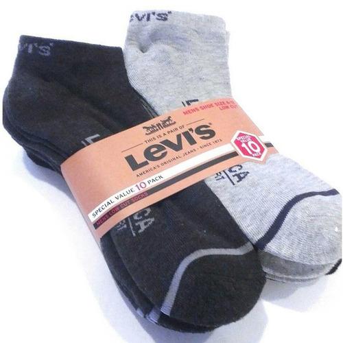 pack de 10 calcetas levi`s  originales hombre cod 9062
