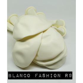 Pack De 10 Globos Blanco Matte De 9´´ Importado