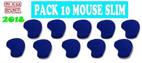 pack de 10 mouse pad adios al dolor y mejora tu salud super