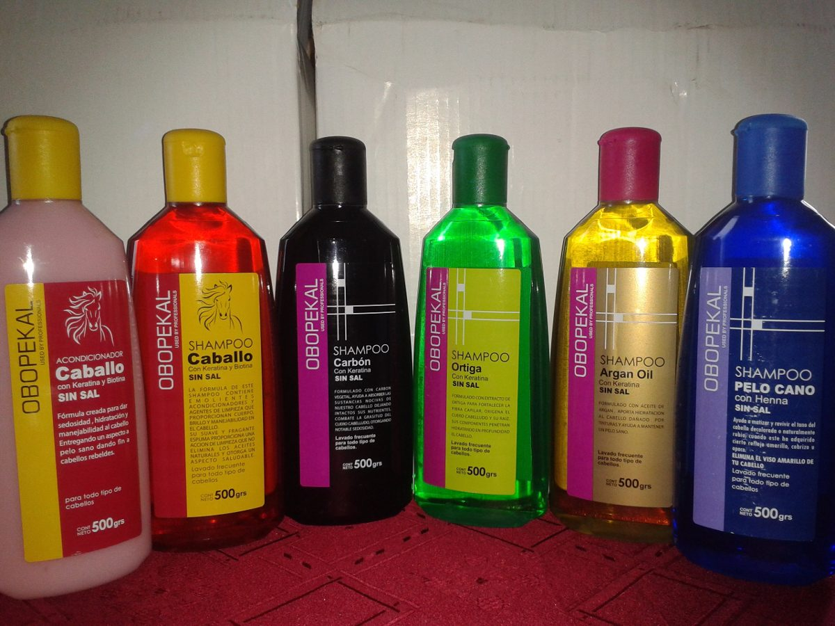 Pack De 10 Shampoo De Caballo Obopekal 500 Ml - $ 18.990
