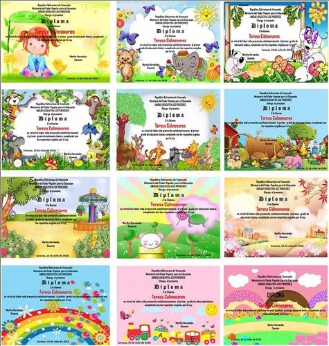 pack de 102 diplomas de preescolar editables en powerpoint
