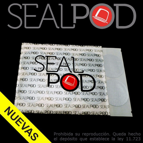 pack de 102 tapas capsula recargable sealpod para nespresso