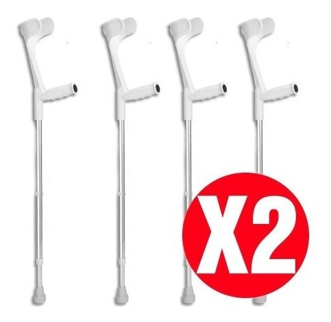 pack de 2 bastón muleta canadiense | 2 x nuevo