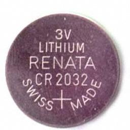 pack de 2 baterias cr2032 para placa madre u y mucho mas