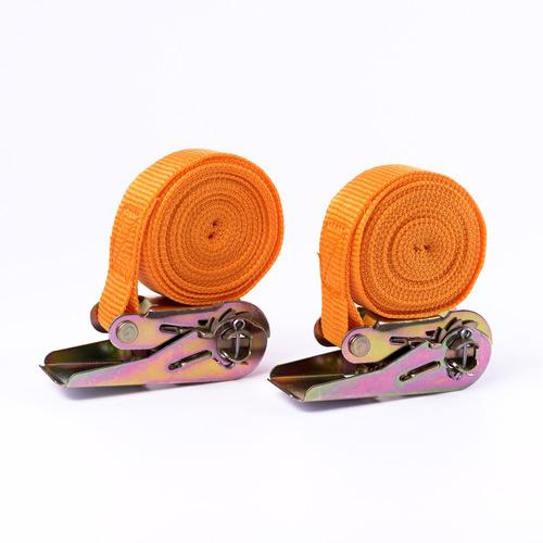 pack de 2 cinta de amarre con crique 1 x 3,5m carga segura
