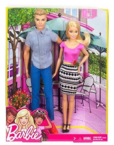 pack de 2 muñecos barbie y ken doll