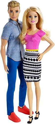 pack de 2 muñecos barbie y ken doll