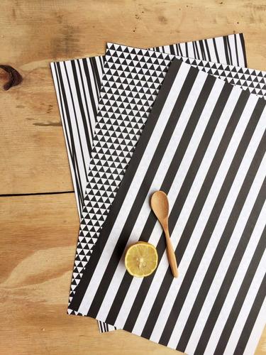 pack de 200 manteles individuales descartables de papel