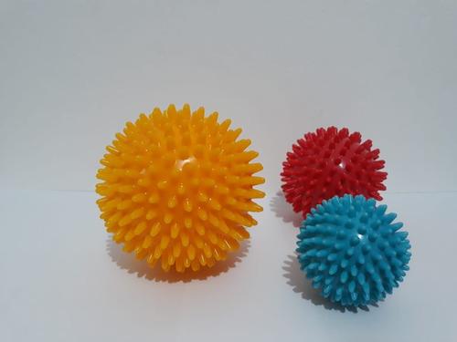 pack de 3 bolas de masaje - masajeador