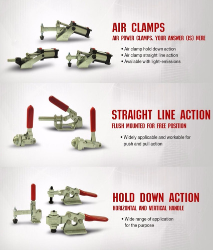 pack de 3 kakuta hh 250 clamp manual.