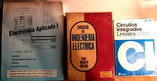 pack de 3 libros de electrónica