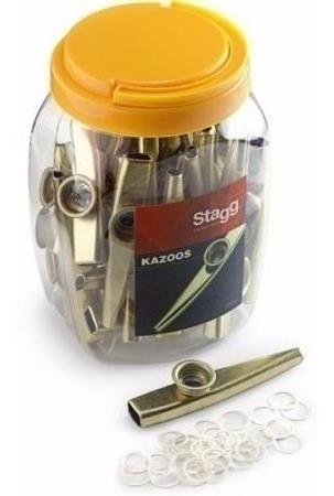 pack de 30 kazoo de metal stagg kazoometal-30
