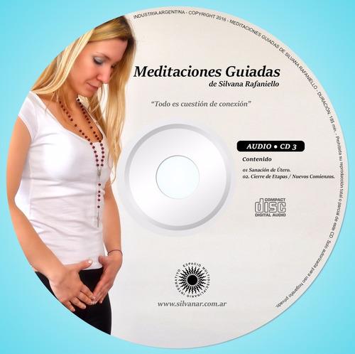 pack de 4 cd's de meditaciones guiadas + un regalo!