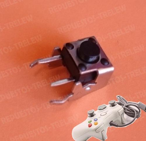pack de 4 pulsador boton gatillos lb rb control xbox 360 one