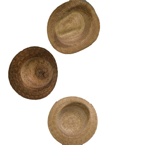 pack de 4 sombreros gorro de palma para niños vaquero