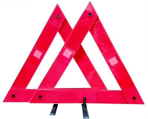 pack de 40 balizas triangulo reflectivo ruta vtv por mayor