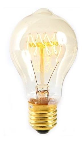 pack de 5 ampolletas vintage clasica filamento carbono 40w