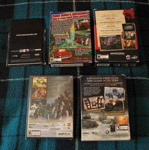 pack de 5 juegos para pc #1