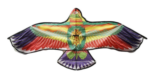 pack de 5 papalote de guacamaya grande 141x61cm cometa