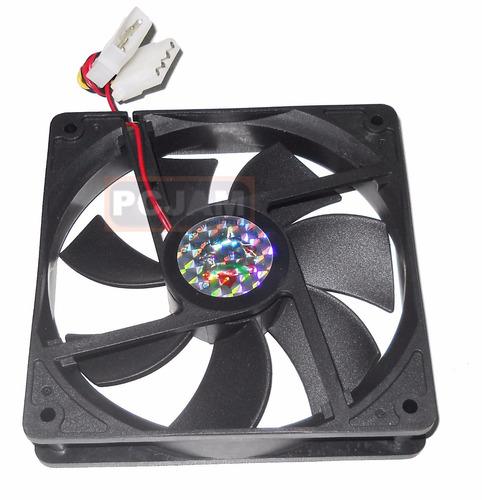 pack de 5 ventiladores de 12x12x2,5cm de 12v y 0,30 a