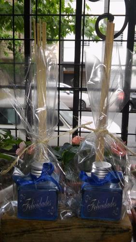 pack de 50 difusores aromáticos souvenirs eventos armados