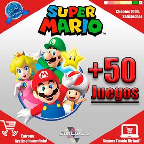 Pack De +50 Juegos Super Mario Bros Para Pc Y Android Oferta