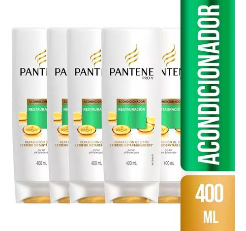 pack de 6 acondicionado pantene pro-v restauración 400 ml