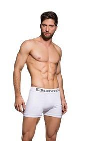 pack de 6 boxers (algodon) + 12 medias dufour (invisible)