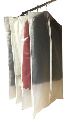 pack de 6 fundas de trajes camperas sacos 1m largo c/cierre