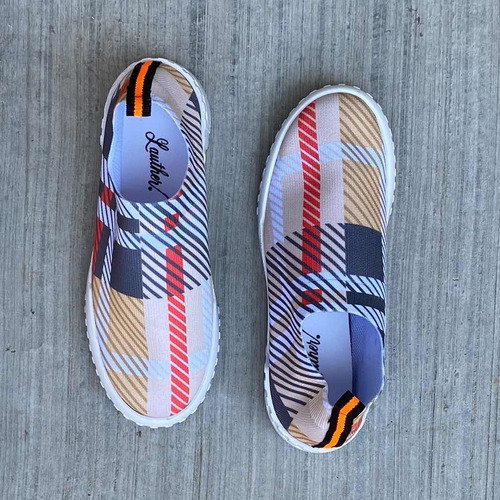 pack de 6 | sneakers tejido - dama