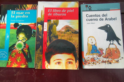 pack de 7 libros alfaguara originales