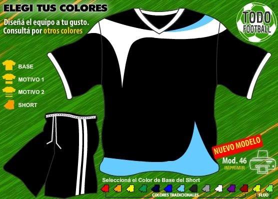 Pack De Camisetas De Futbol Para Tu Equipo + Short + Medias! -   499 ... 47fc6d2a7814d