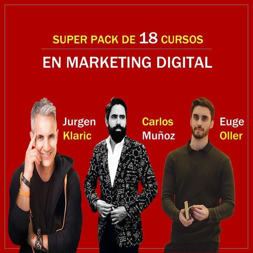 pack de cursos de marketing digital