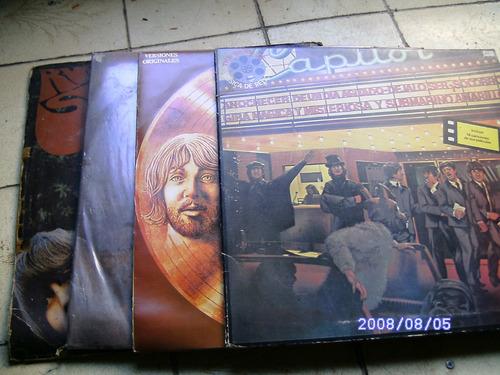 pack de discos de vinilos the beatles,buen  estado 1200$