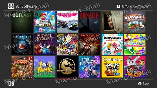 pack de juegos digitales para nintendo switch ya chipeadas