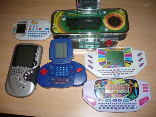 pack de juegos electrónicos.