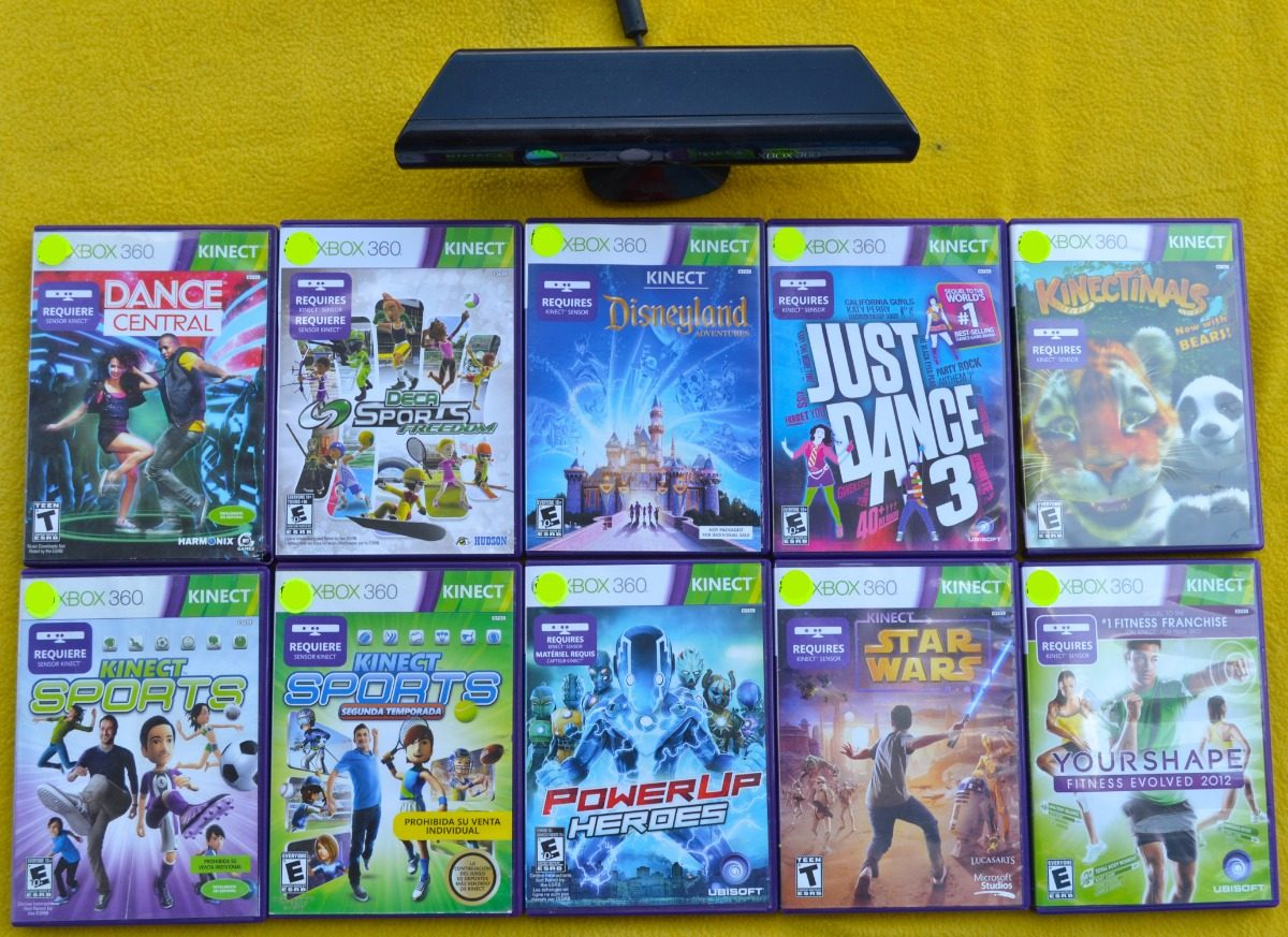 Pack De Juegos Kinect Kinect Gratis Xbox 360 Play Magic