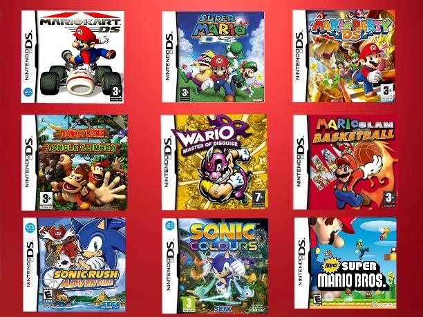 Pack De Juegos Para Nintendo Ds Dsi Ds Xl Bs 600 00 En Mercado Libre