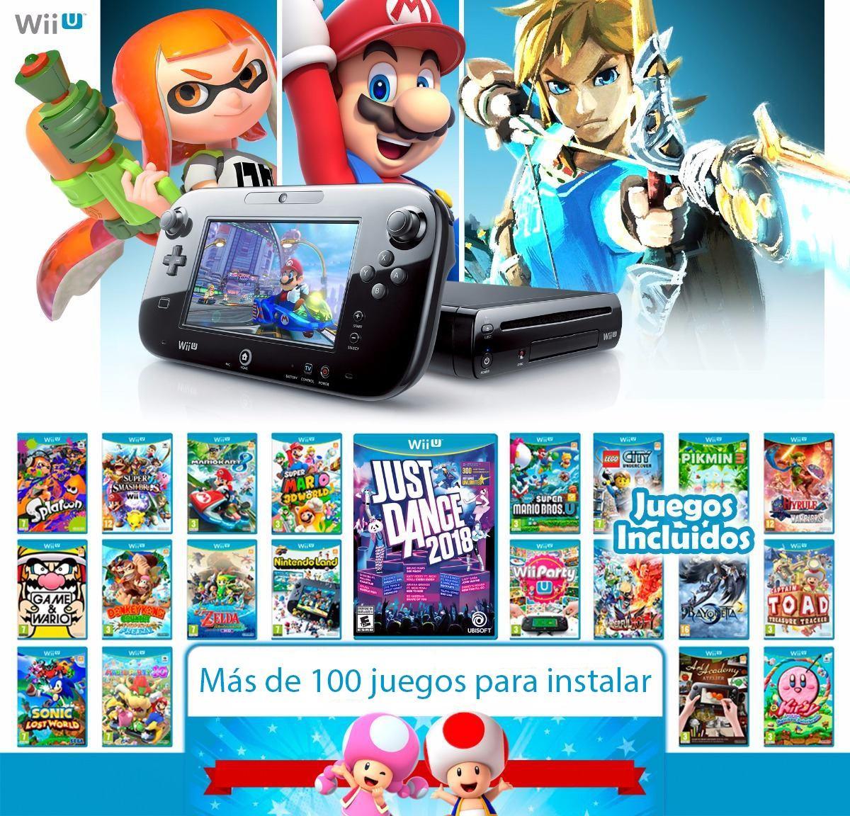 Pack De Juegos Para Wii U Version 5 5 2 Bs 71 89 En Mercado Libre