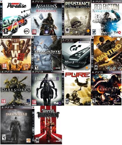 pack de juegos ps3